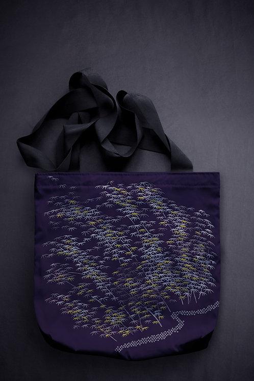'bamboo' canvas bag