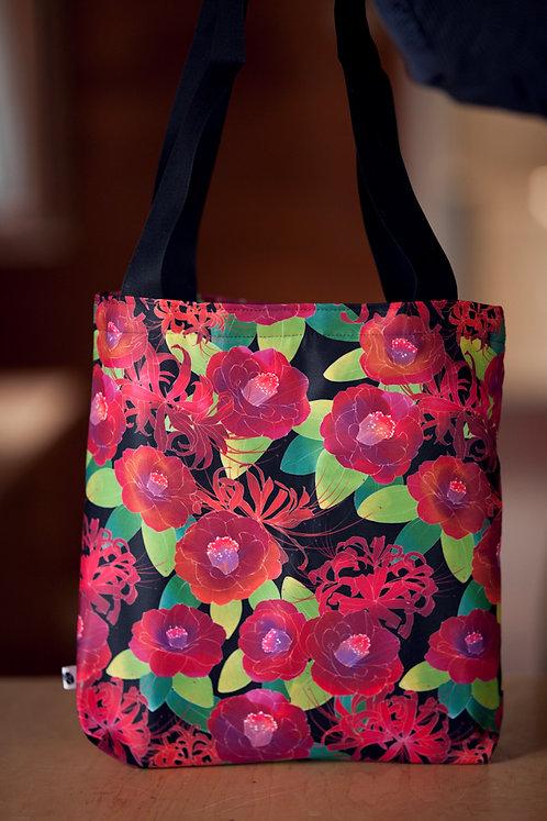 'tsubaki' canvas bag