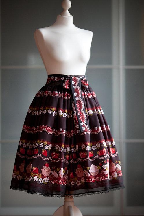 'strawberry chocolate' skirt