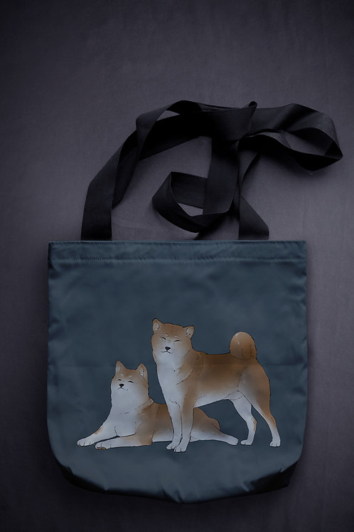 'sleeping dogs' canvas bag