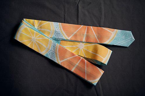 Koshi-himo belt 'oranges'