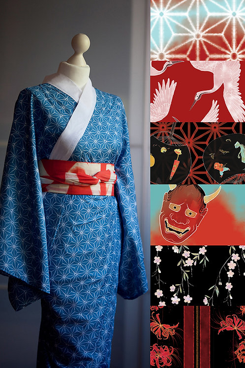 Nagajuban (many colors available)