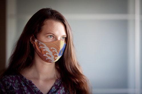 Face mask 'waves'