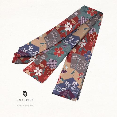 Koshi-himo belt 'weeping sakura'