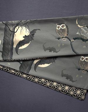 hanhaba obi 'Ohara Koson owls'
