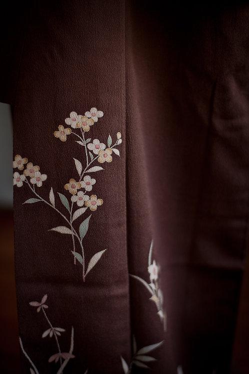 VINTAGE tsukesage kimono