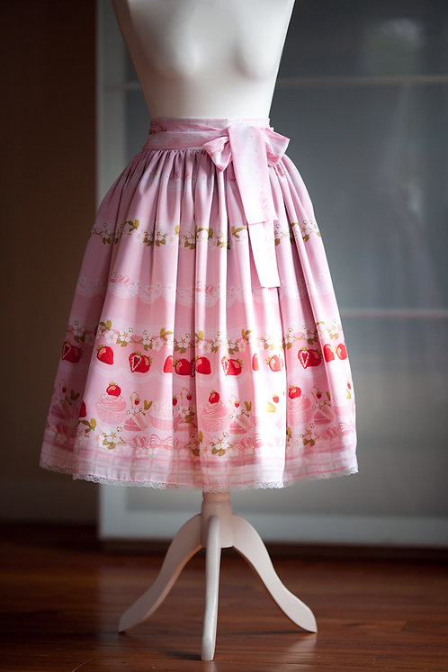 'strawberry vanilla' skirt