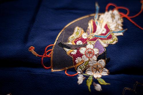 VINTAGE furisode kimono