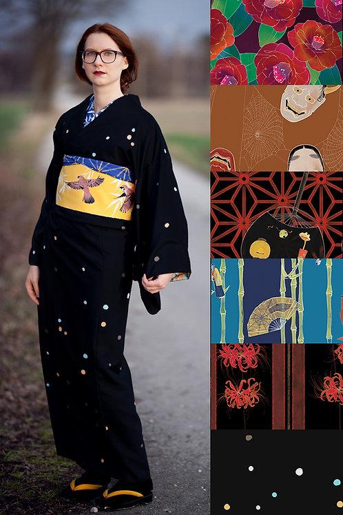 Soft linen kimono (many colors available)