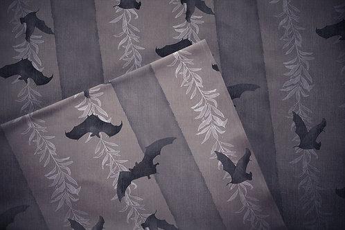 Printed denim / shirt fabric 'cicadas'