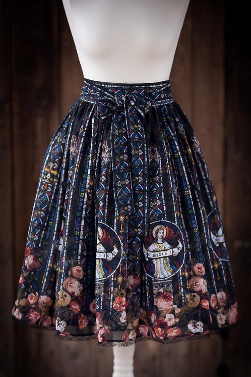 'Glass & Roses' skirt