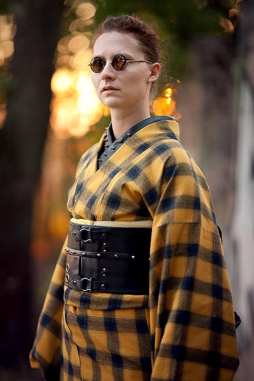 Faux leather nagoya obi