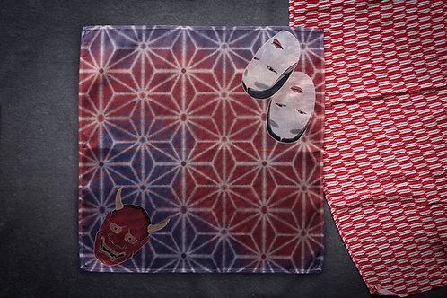 Furoshiki 'asanoha masks'