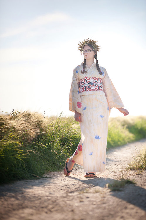 Yukata 'golden fields' (limited edition)