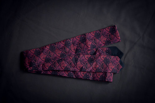 Koshi-himo belt 'underwater pattern'