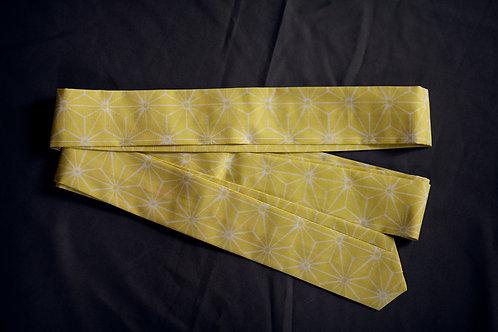 Koshi-himo belt 'lemon asanoha'