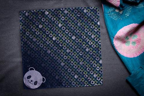 Furoshiki 'shippō pandas'