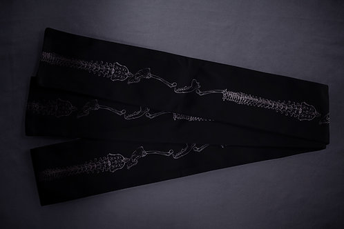 Datejime belt 'bone collection'