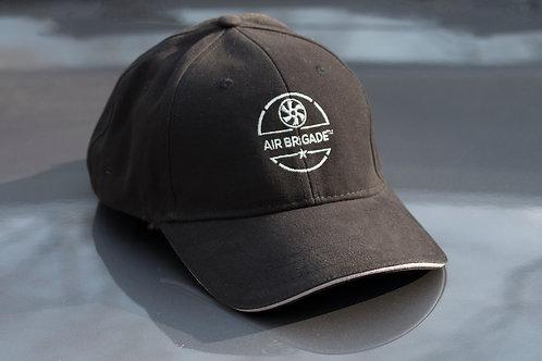 Baseball Hat - Black Twill Air Brigade