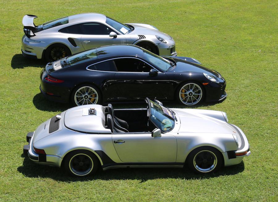 Porsche Carrera Speedster Porsche GT3 Monterey Auction sales