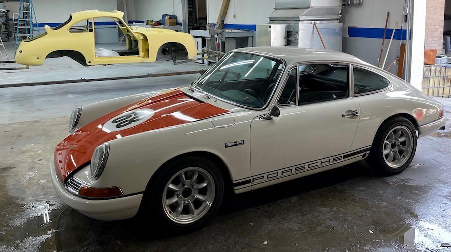 Restoring a Porsche