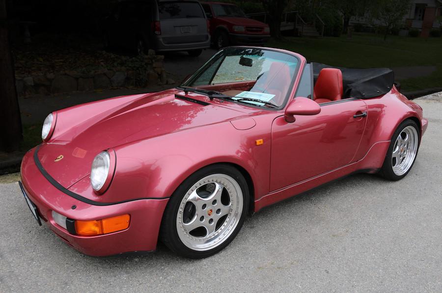 Porsche 964 Raspberry Red
