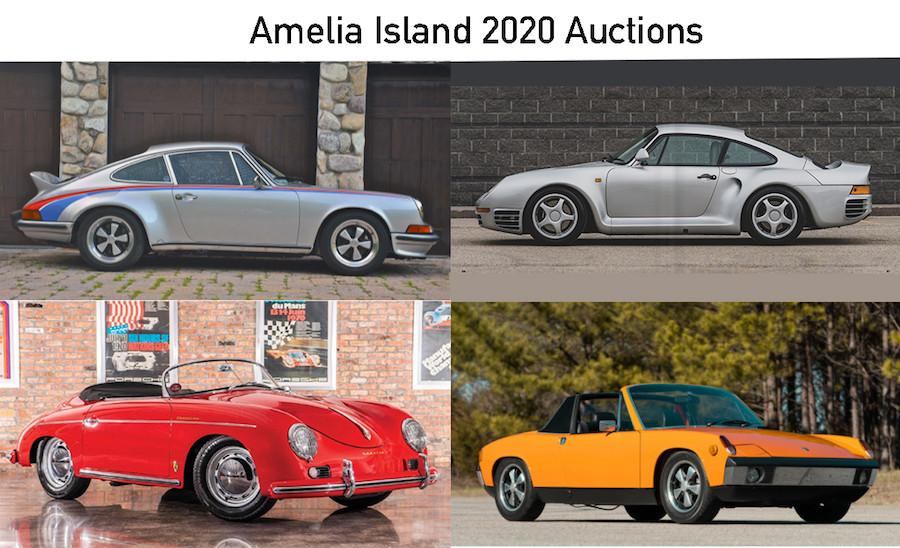 Porsches Amelia 2020
