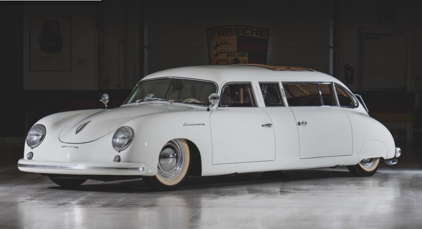 Porsche 356 Limousine on Auction Taj Ma Garaj