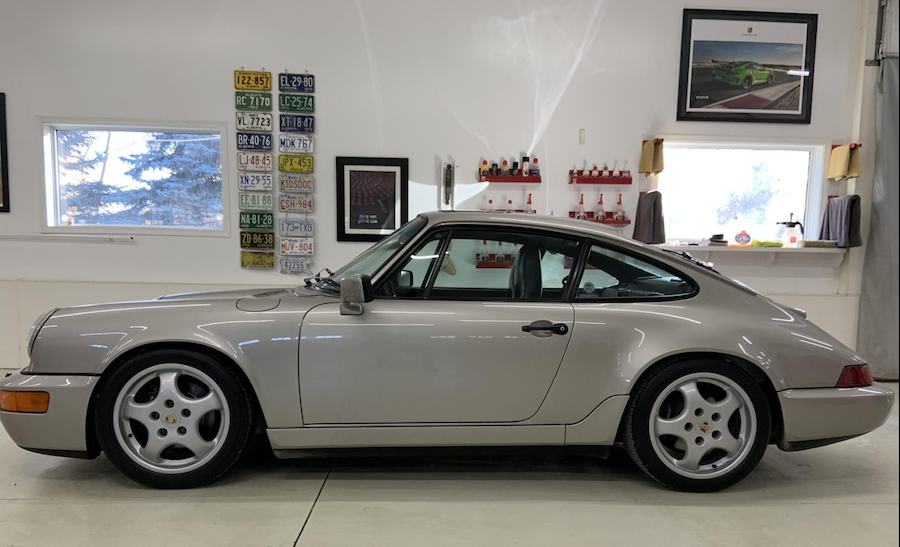 High Miles impact on sale of Porsche 964