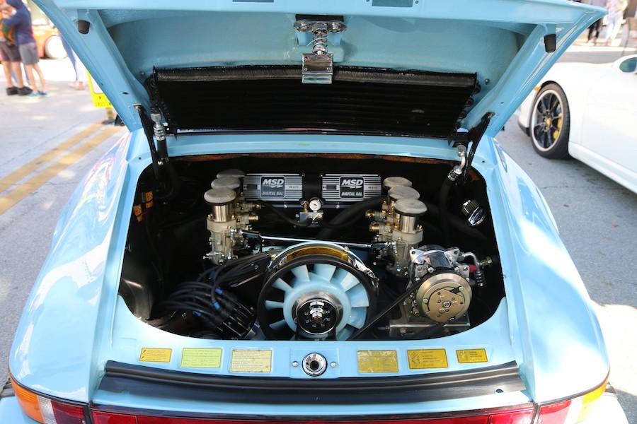 Porsche 911 Twin Plug Engine at DRT2020