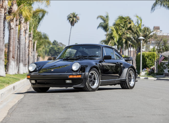 Classic Porsche 930 Turbo air cooled