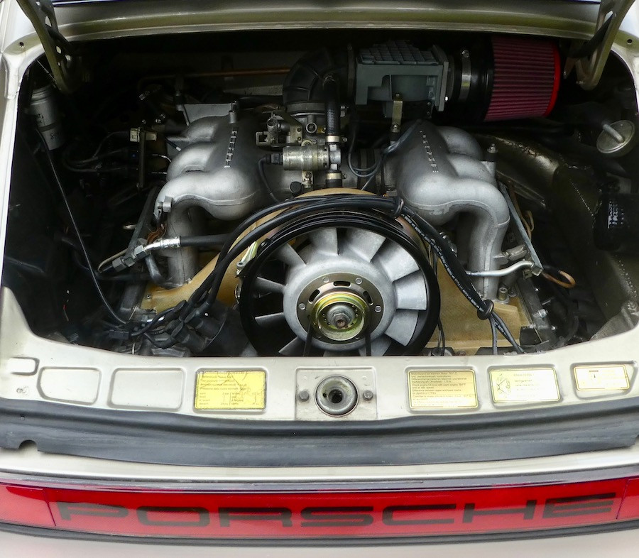 Porsche Air-cooled flat-six engine