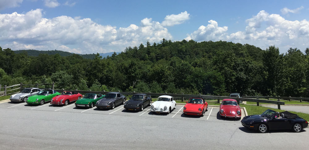 Air Cooled Porsche Driving Group