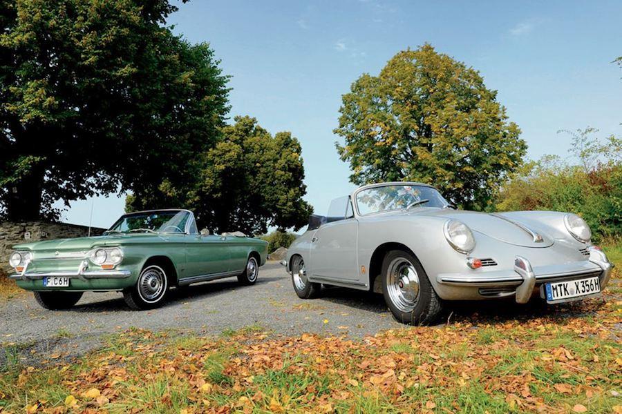 Corvair and Porsche 356