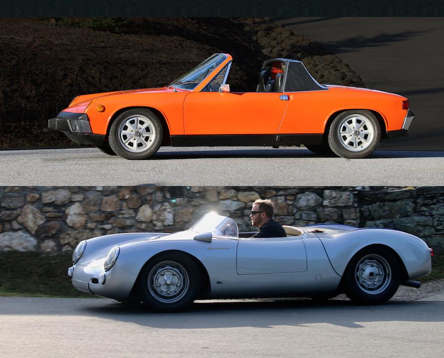 Porsche 550 and Porsche 914