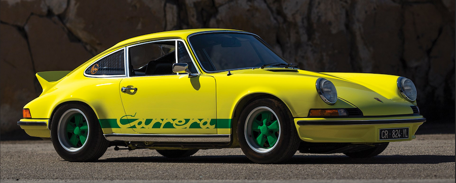 1973 Porsche 911 RS at Monterey RM Sotheby's Auction