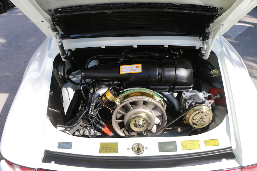 Porsche 911 engine at DRT2020