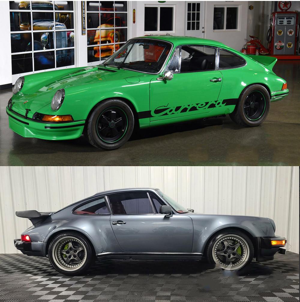 Air-cooled Porsche for Sale Barrett-Jackson