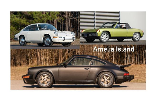 Air Cooled Porsches Amelia 2020