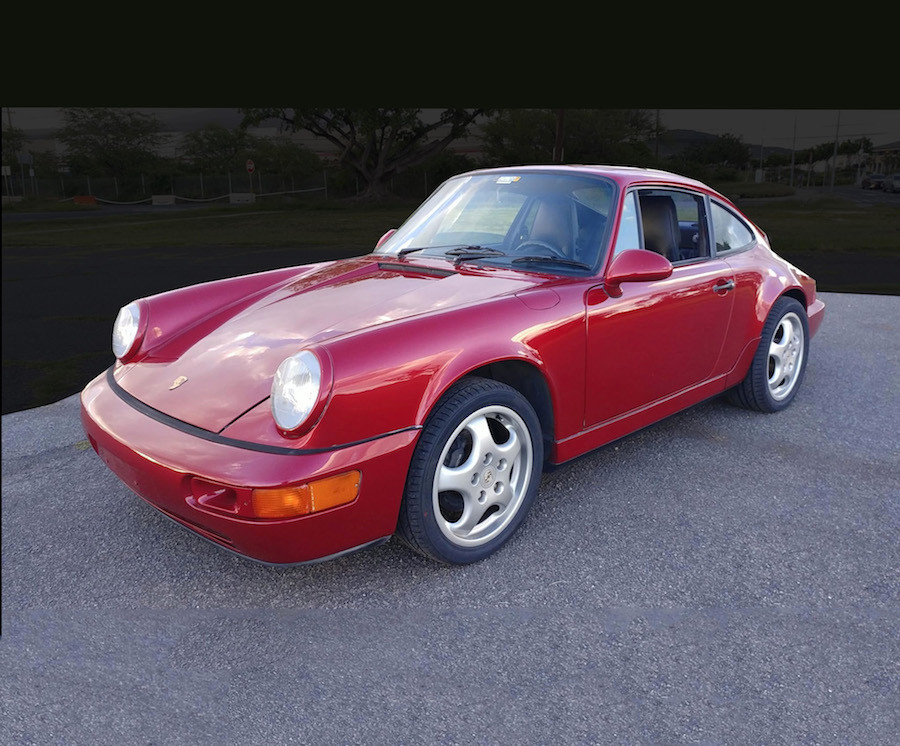 Auction of Porsche 964