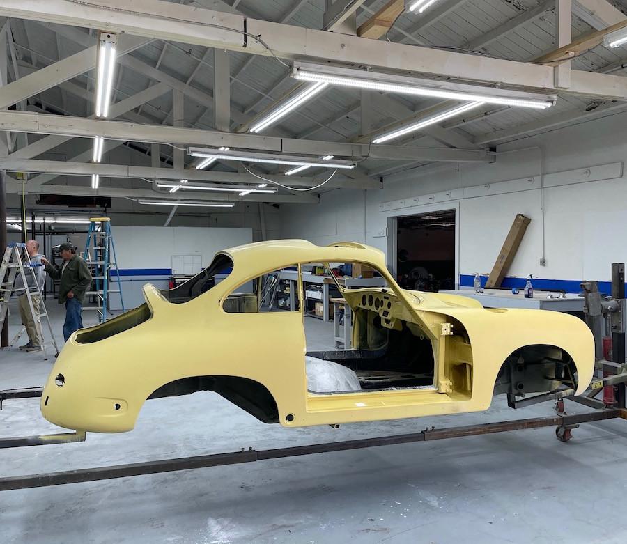 Restoring an air-cooled Porsche