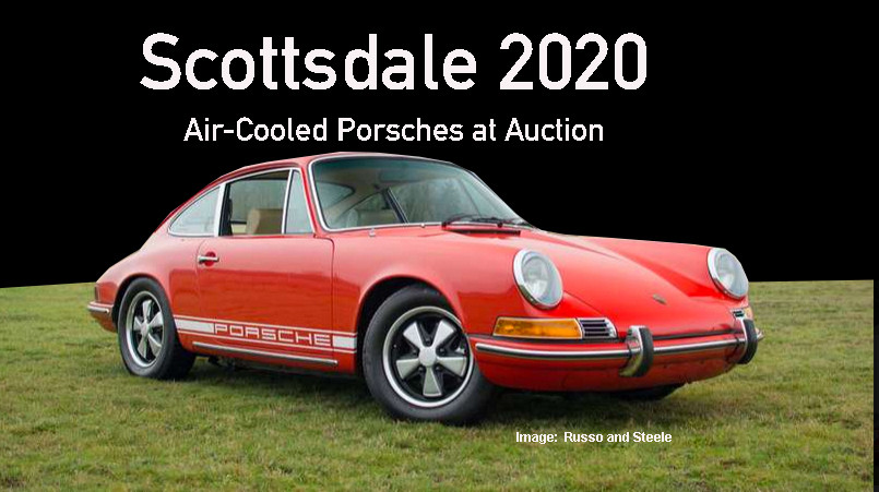 Air-Cooled Porsches at Scottsdale 2020 auctions