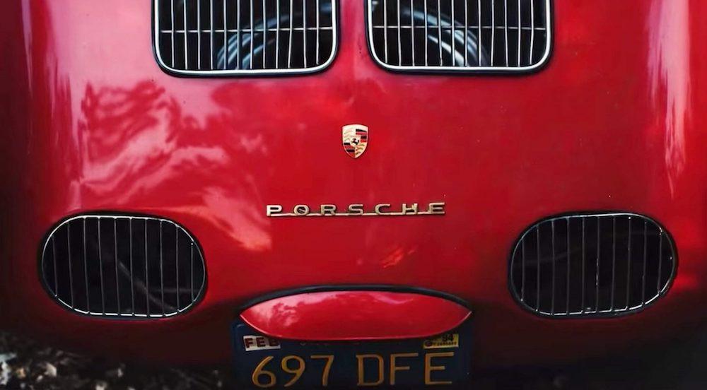 Porsche 550 Spyder Container Find