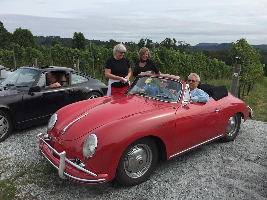 Porsche 356 drive