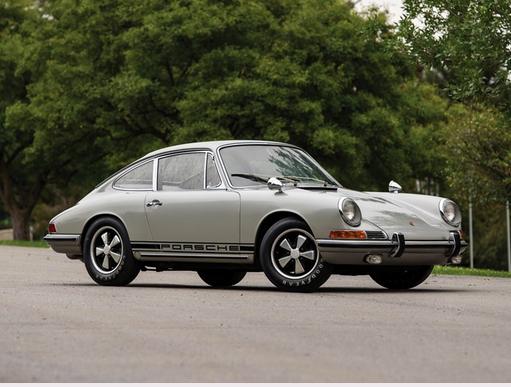 Rallye Package Porsche 911S Bruce Jennings