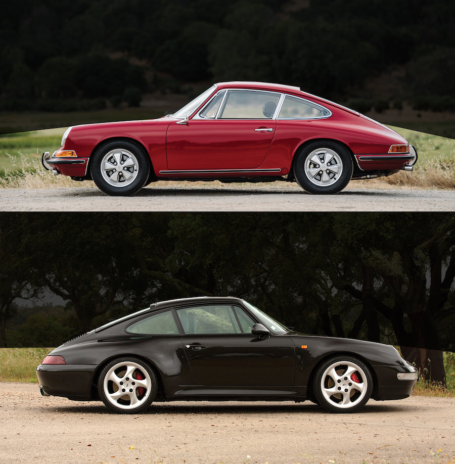 Classic Air Cooled Porsche, Modern Air Cooled Porsche