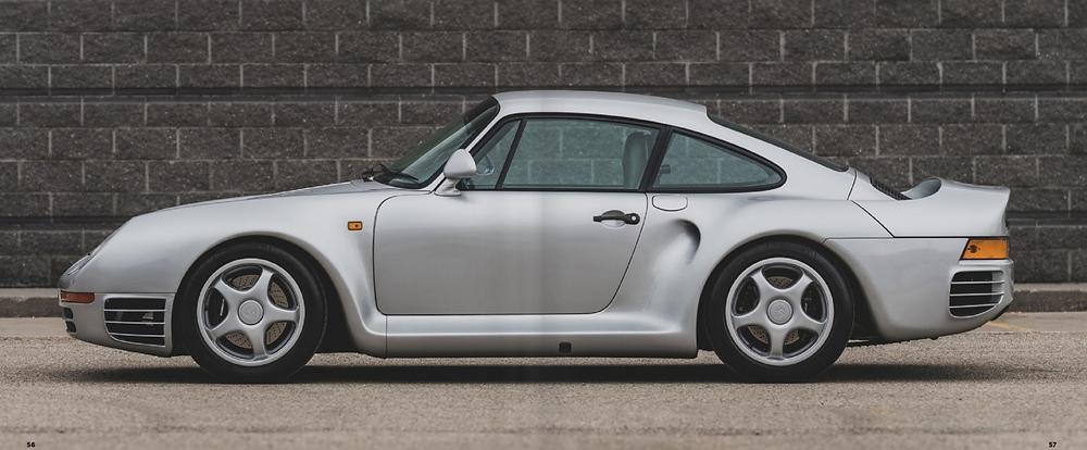 Porsche 959 sale at Amelia Island