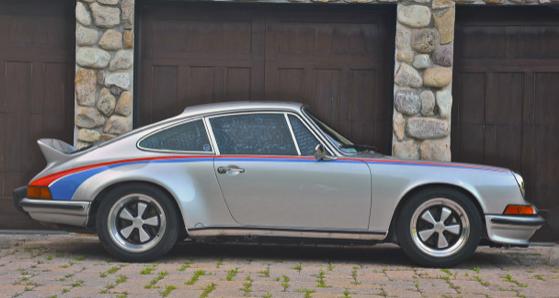 Brumos Porsche 911 of Peter Gregg