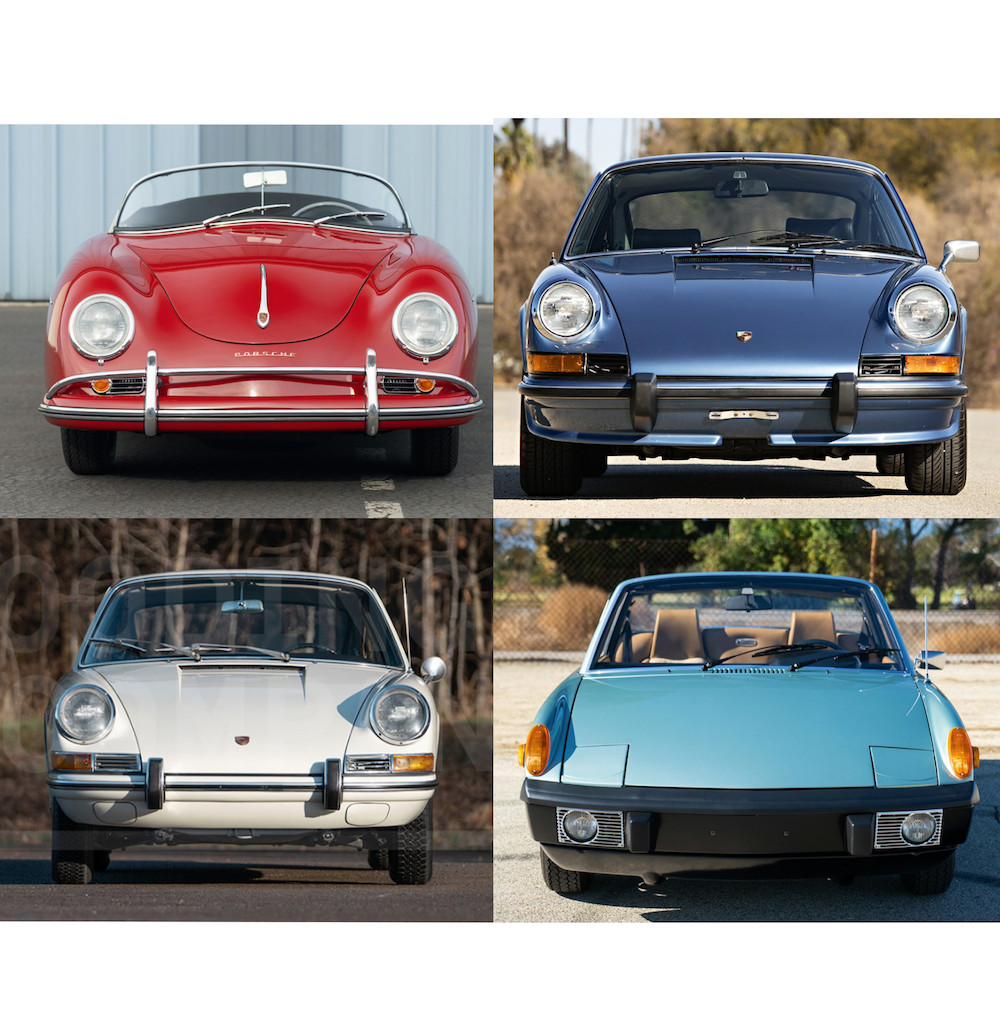 Air-Cooled Porsches for Sale