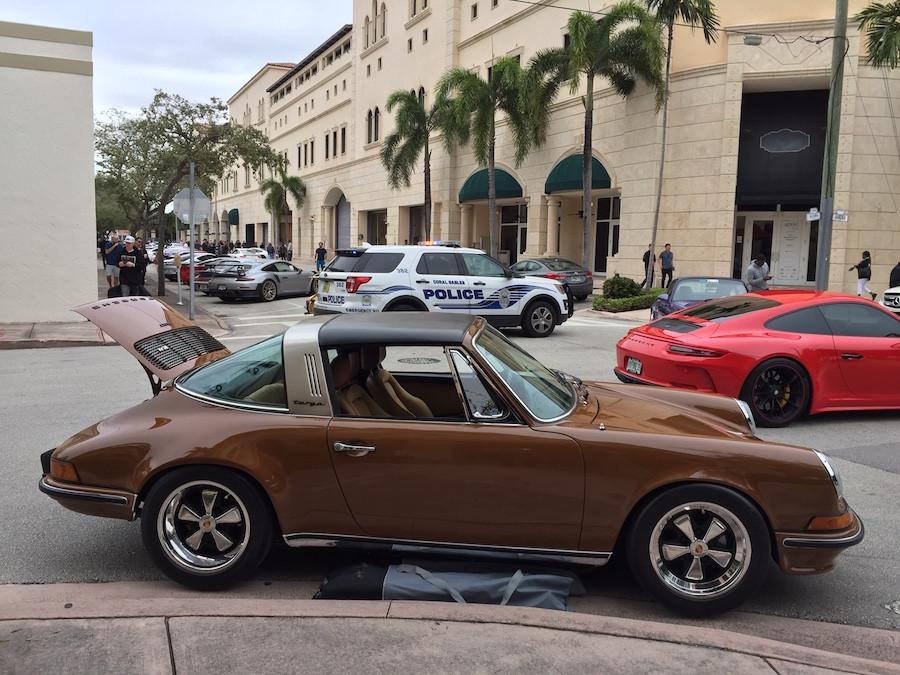Porsche 911 Targa The Collection Cars & Coffee